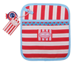 Pannenlap H&G Big Top Stripe - Ulster Weavers