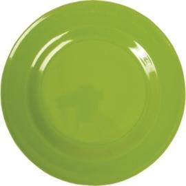 Melamine Dinerbord Appeltjes Groen - Rice