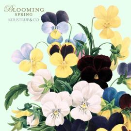 Set 8 Kaarten met Envelop Blooming Spring - Koustrup & Co.