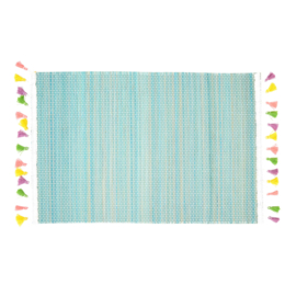 Bamboe Placemat Sea Green (40 cm.) - Rice