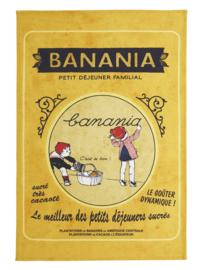 Theedoek Banania Petit Dejeuner Familial (75 cm.) - Coucke