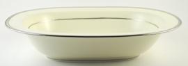 Ovale Schaal (26,5 cm.) - Noritake Platinum Line