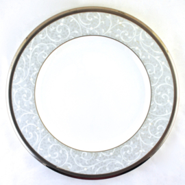Dinerbord (27,5 cm.) - Noritake Lenore Platinum
