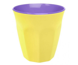 Beker Melamine Pastel Yellow (200 ml.) - Ginger