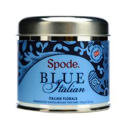 Geurkaars in Blik Italian Florals (7,8 cm.) - Spode Blue Italian