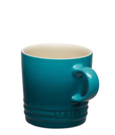 Koffiemok Deep Teal (0,2 l.) - Le Creuset