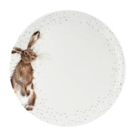 Dinerbord Hare (26,7 cm.) - Wrendale Designs