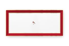 Serveerschotel Red (33,2 cm.) - Pip Studio Love Birds
