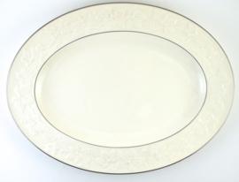 Serveerschotel (36 cm.) - Noritake Halls of Ivy Platinum