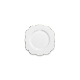 Gebaksbord Royal White (17 cm.) - Pip Studio