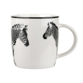 Mok Funky Zebra Black (0,40 l.) - Portmeirion Catherine Lansfield
