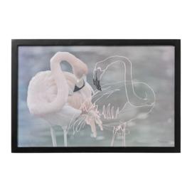 Lijst Paulownia Flamingo's - Bloomingville