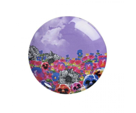 Bordje Melamine Wonderland Flower Field (12,7 cm.) - Ginger