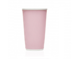 Koffie-/Theebeker Pink Pastel (45 cl.) - Les Artistes