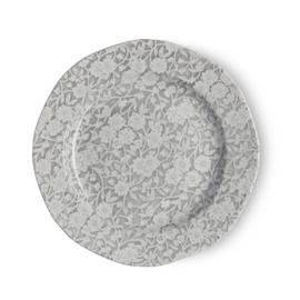 Gebaksbord Dove Grey Calico (17,8 cm.) - Burleigh