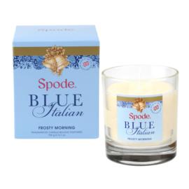 Geurkaars in Glas Frosty Morning (8,1 cm.) - Spode Blue Italian
