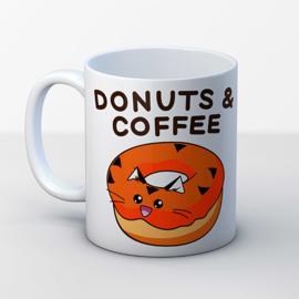 Mok 'Donuts & Coffee' - Fuzzballs