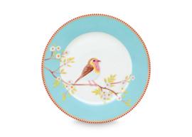 Ontbijtbord Blue (21 cm.) - Pip Studio Early Bird