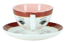 Kop & Schotel Open Eyes Pink - Miss Étoile