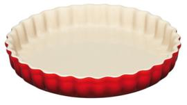 Aardewerken Taartvorm Kersenrood (28 cm.) - Le Creuset