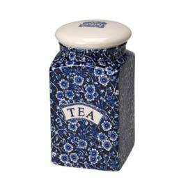 Tea Voorraadpot Blue Calico - Burleigh