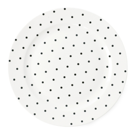 Bord Black Dots (26 cm.) - Miss Étoile
