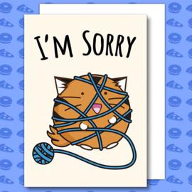 Kaart 'I'm Sorry' - Fuzzballs