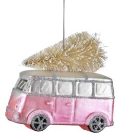 Kerstdecoratie Bus (12 cm.) - Miss Étoile