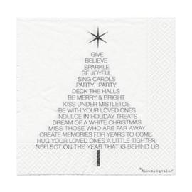 Papieren Servetten Kerst - Bloomingville
