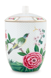 Voorraadpot Blushing Birds White (1,5 l.) - Pip Studio