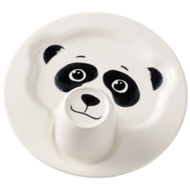 2-delige Kinderset Panda - Villeroy & Boch Animal Friends