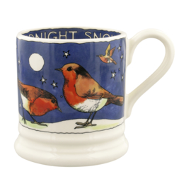 1/2 Pt Mug Robins in the Snow - Emma Bridgewater