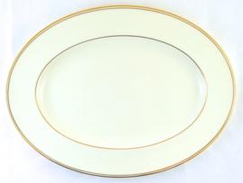Ovale Serveerschotel (31,2 cm.) - Noritake Gold Line