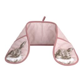 Dubbele Ovenwant Bathtime Rabbit - Pimpernel Wrendale