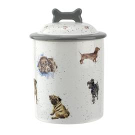 Voorraadpot Dogs (19 cm.) - Wrendale Designs