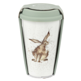 Travel Mug Hare (0,31 l.) - Wrendale Designs