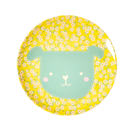 Melamine Bord Dog - Rice