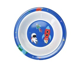 Schaal Melamine Happy in Space (16,5 cm.) - Ginger