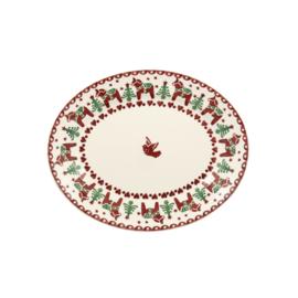 Ovale Serveerschotel (28,4 cm.) - Emma Bridgewater Christmas Joy