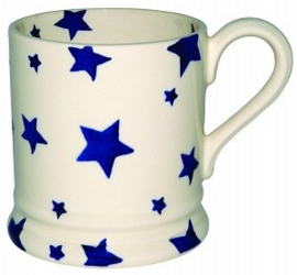 1/2 Pt Mok Blue Star - Emma Bridgewater