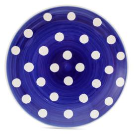 Ontbijtbord Florence Cobalt Spot (20,5 cm.) - Whittard of Chelsea