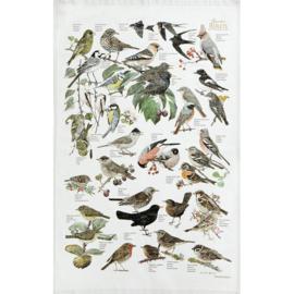 Theedoek Garden Birds - Koustrup & Co.