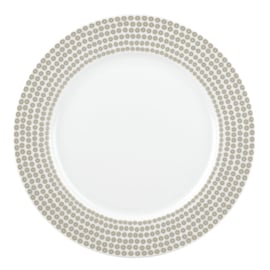 Dinerbord Glamour Sequin Silver (27 cm.) - Portmeirion Catherine Lansfield