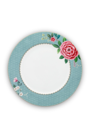 Dinerbord Blushing Birds Blue (26,5 cm.) - Pip Studio