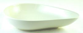 Schaal Teardrop (23 cm.) - Noritake Ambience White