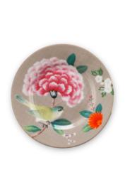 Petit Fourbordje Blushing Birds Khaki (12 cm.) - Pip Studio