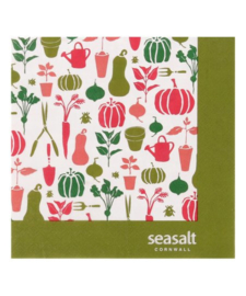 Papieren Servetten Seasalt Allotment - Ulster Weavers