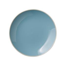 Bord (20 cm.) Blauw Olivia - Bloomingville