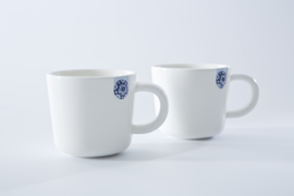 Set 2 Mokken Touch of Blue S (0,09 l.) - Royal Delft
