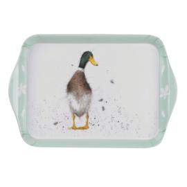Melamine Dienblaadje Duck (21,2 cm.) - Pimpernel Wrendale